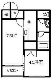 エスポアール310[305号室]の間取り
