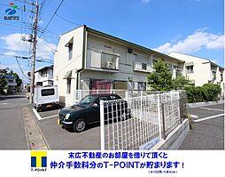 Green Apartment A棟[2階]の外観