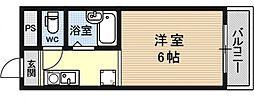 シャローム醍醐[306号室号室]の間取り