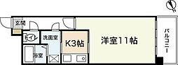 ルネスEスペース[4階]の間取り
