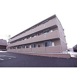 福島県郡山市台新1丁目の賃貸アパートの外観