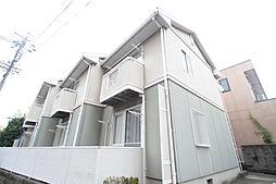 愛知県名古屋市昭和区川名町1丁目の賃貸アパートの外観