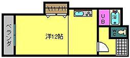 コウガマンション2[3階]の間取り