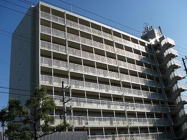佃第1ローズマンション[3階]の外観