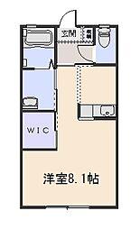 ウィルB[2階]の間取り