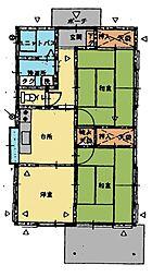 [一戸建] 栃木県足利市百頭町 の賃貸【栃木県 / 足利市】の間取り