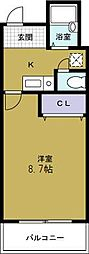 Collection夕凪[4階]の間取り