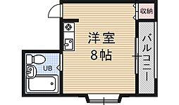 衣川ポケット[G号室号室]の間取り