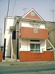 埼玉県春日部市本田町2丁目の賃貸アパートの外観