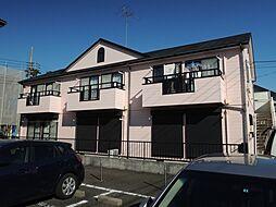 レスペ文京B棟[1階]の外観