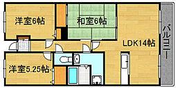 泉北高速深井駅徒歩5分[102号室]の間取り