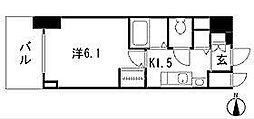 プレサンスSAKAE白川公園II[404号室]の間取り