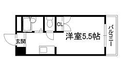 スチューデントライフ横山[226号室]の間取り