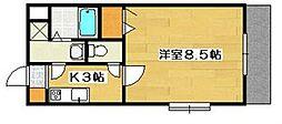 Arterior Hills East[1階]の間取り