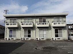 山口県山口市大内長野の賃貸アパートの外観