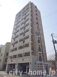 大阪府大阪市阿倍野区長池町の賃貸マンションの外観