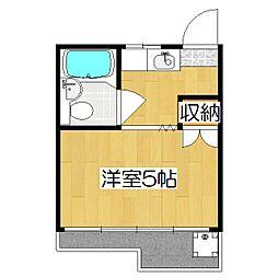 メゾン塚本[205号室]の間取り