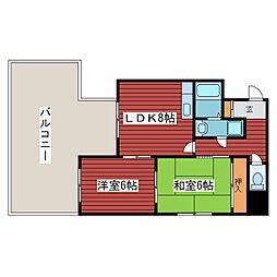 西岡沼田ビル[2階]の間取り