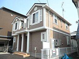 埼玉県新座市野寺4丁目の賃貸アパートの外観