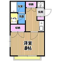 永井会[2階]の間取り