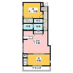 MIYABI[1階]の間取り