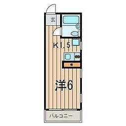 グランブルー・タカ[2階]の間取り