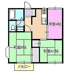 タリフ2[1階]の間取り