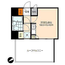 ライオンズマンション中野第5[309号室]の間取り
