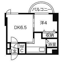 ラフォーレ円山公園[3階]の間取り