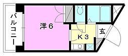 Selene三番館[307 号室号室]の間取り