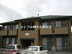 岡山県岡山市南区福田丁目なしの賃貸アパートの外観