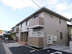 滋賀県草津市東矢倉1丁目の賃貸アパートの外観