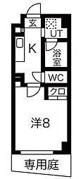 愛知県名古屋市千種区西山元町2丁目の賃貸マンションの間取り