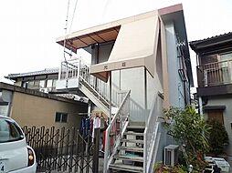 滋賀県大津市光が丘町の賃貸アパートの外観