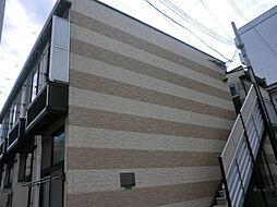 レオパレスラピスラズリ[2階]の外観