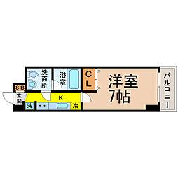 プロシード新栄[403号室]の間取り