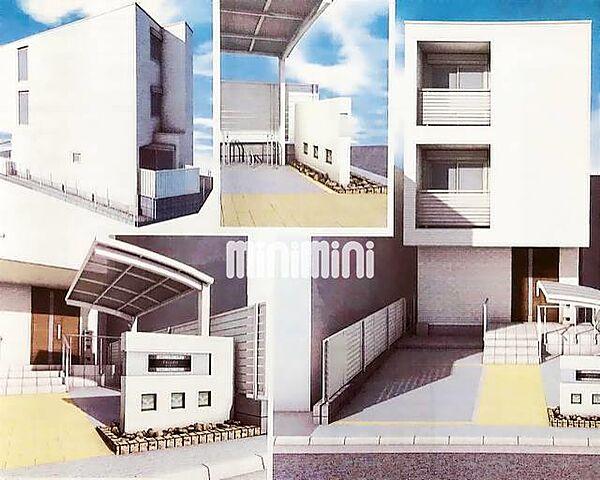 (仮称)中村区名楽町2丁目メゾン[3階]の外観