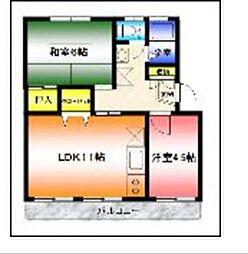 サンスクウェア湘南台[2階]の間取り