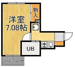 KO水堂マンション[2階]の間取り
