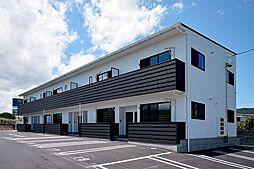 徳島県徳島市八万町川南の賃貸アパートの外観
