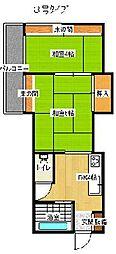マンションサンエース[3階]の間取り