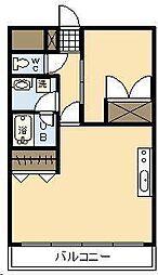 シャンテ城ヶ崎[4階]の間取り
