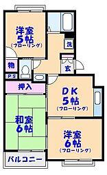 メゾン・ロッシュ[1階]の間取り