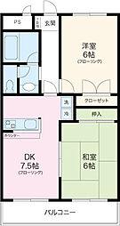 メゾンド加納2[2階]の間取り