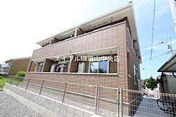 岡山県岡山市北区三野2丁目の賃貸アパートの外観
