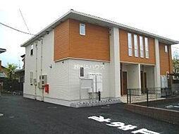 埼玉県上尾市瓦葺の賃貸アパートの外観