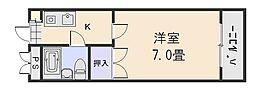 西原マンション[3階]の間取り