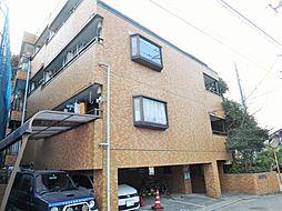 神奈川県川崎市多摩区長尾2丁目の賃貸マンションの外観