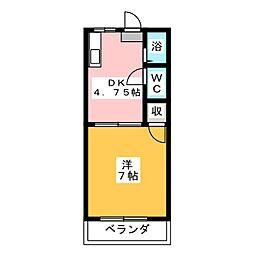 ビーフリーML−E[1階]の間取り