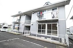 岡山県岡山市北区東花尻の賃貸アパートの外観
